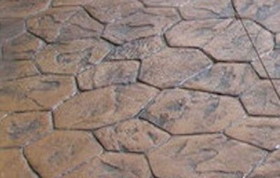 DecoMax Concrete - Stamped Concrete Patterns - 06 - Random Stone