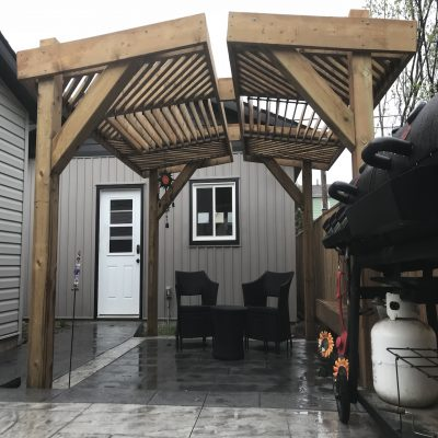 DecoMax Fences and Decks - Pergolas Gallery