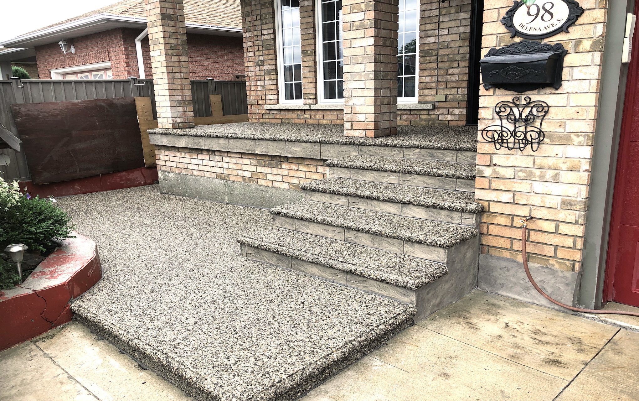 DecoMax Concrete - Concrete Front Walkways Gallery - Combination - 006