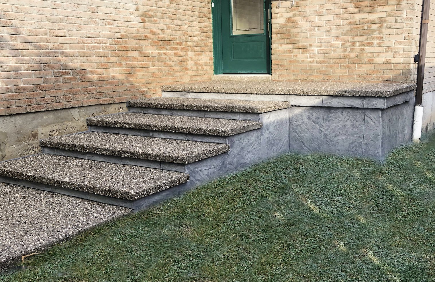 DecoMax Concrete - Concrete Front Walkways Gallery - Combination - 008