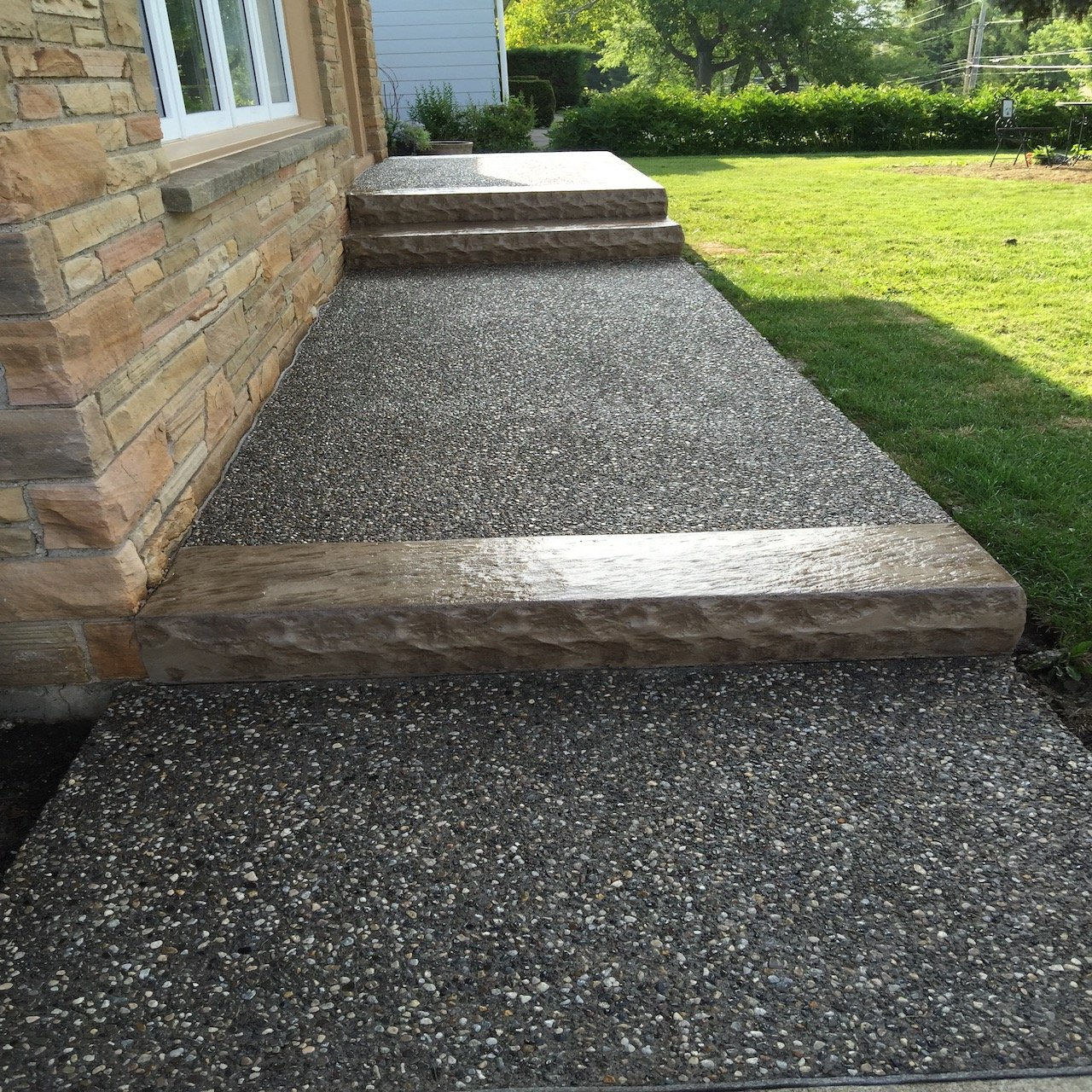 DecoMax Concrete - Concrete Front Walkways Gallery - Combination - 014
