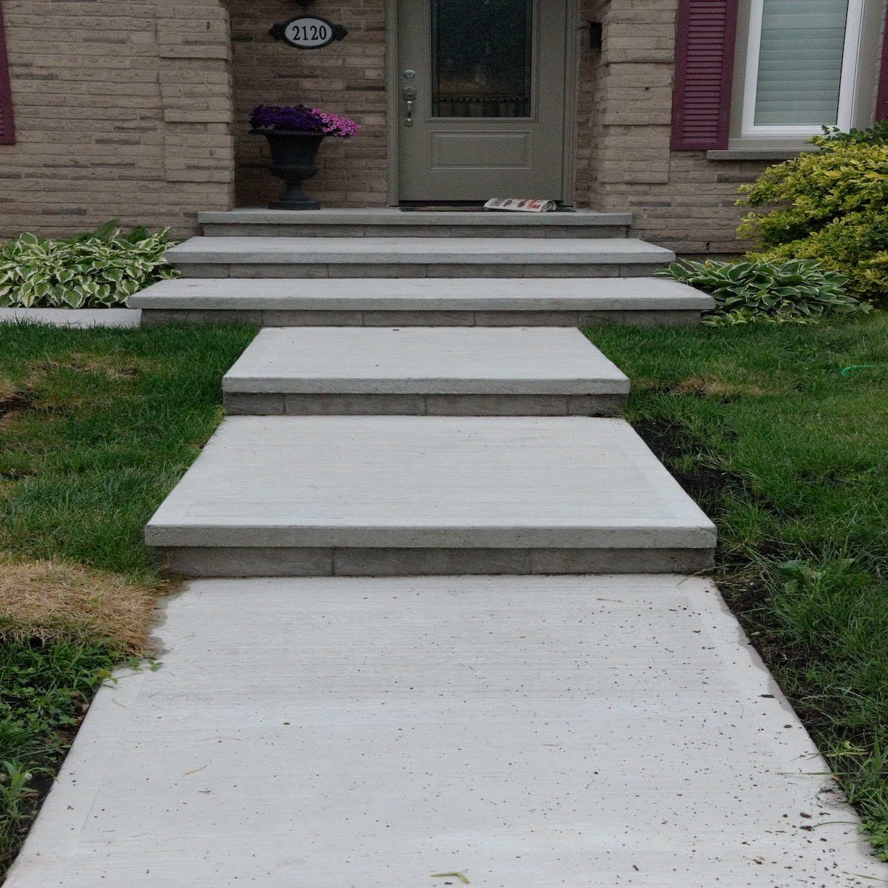 DecoMax Concrete - Concrete Front Walkways Gallery - Regular - 005