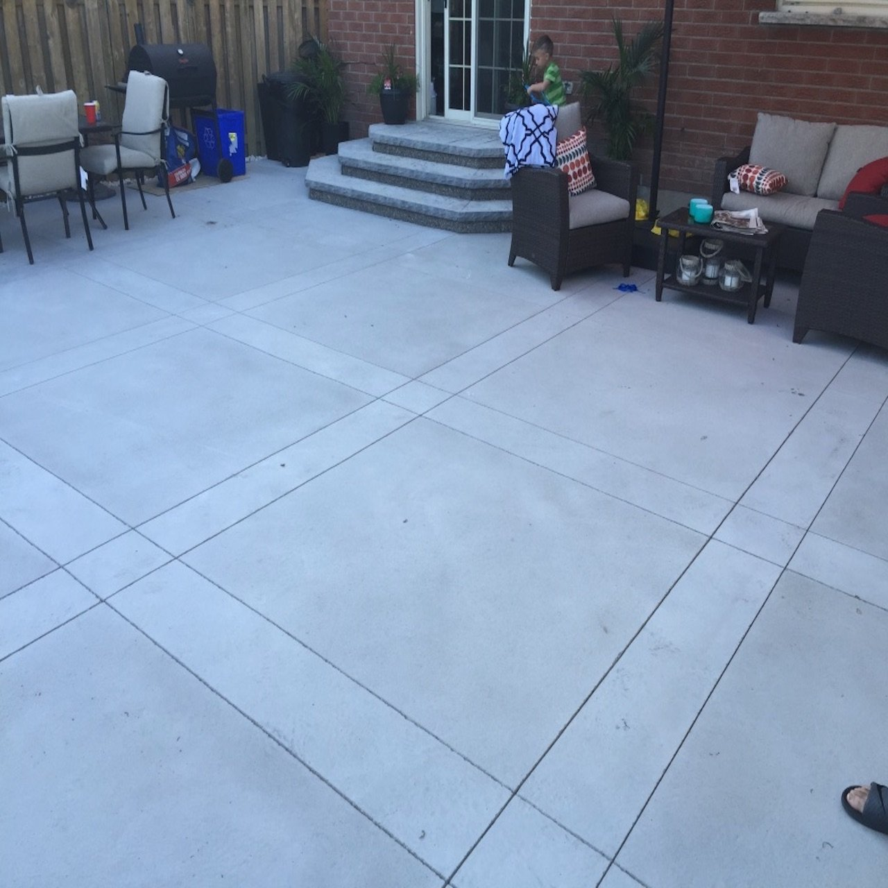 DecoMax Concrete - Concrete Patios Gallery - Regular Smooth Finish - 001