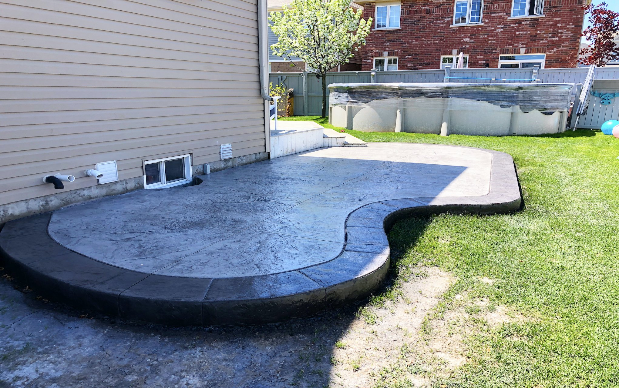 DecoMax Concrete - Concrete Patios Gallery - Stamped - 011