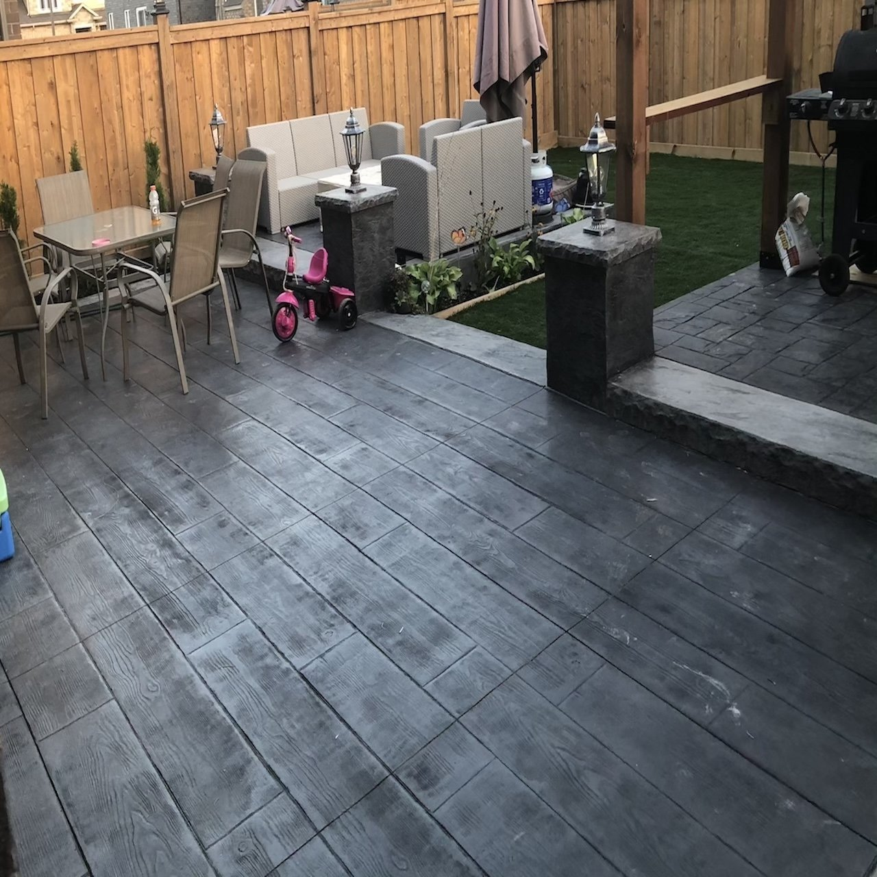 DecoMax Concrete - Concrete Patios Gallery - Stamped - 015