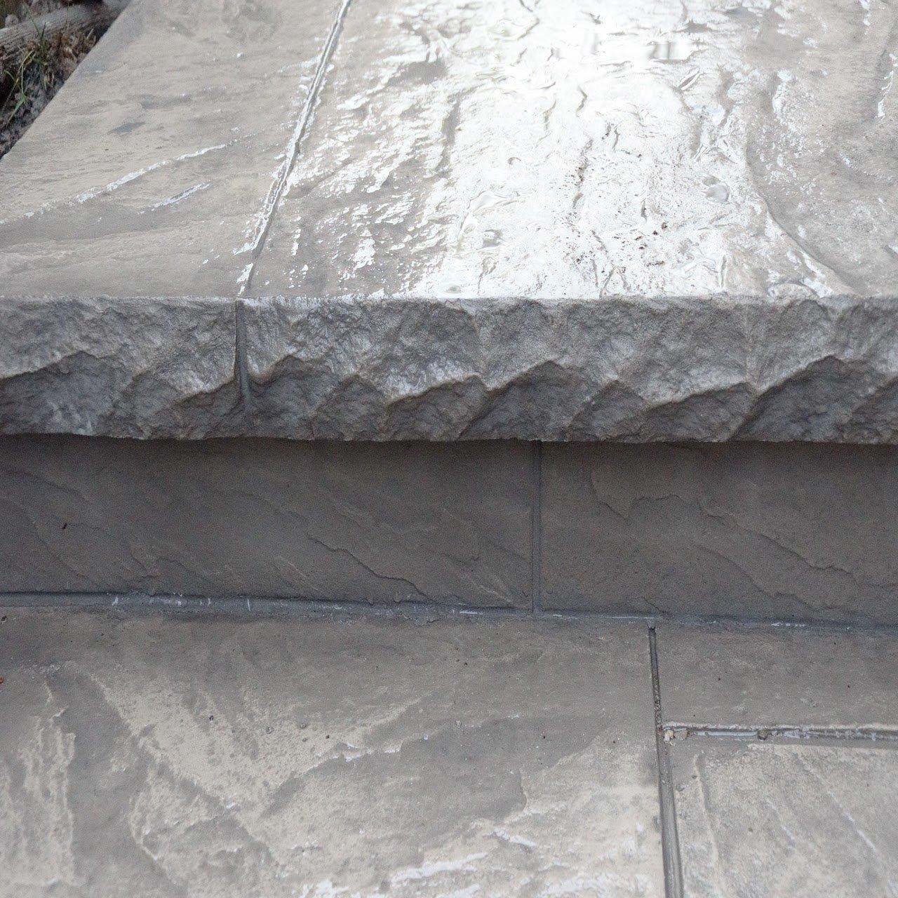 DecoMax Concrete - Concrete Steps Gallery - Stamped - 003