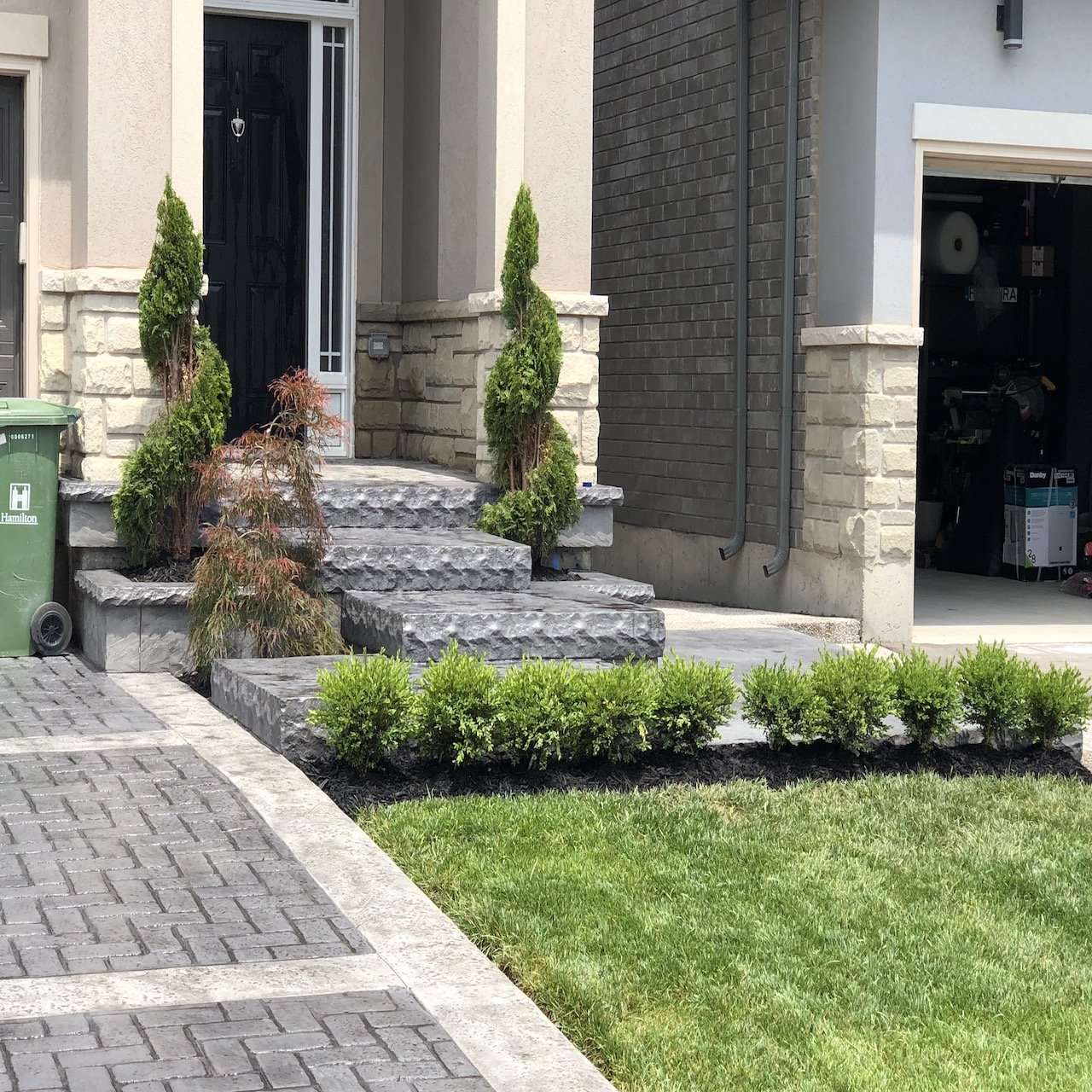 DecoMax Concrete - Concrete Steps Gallery - Stamped - 007