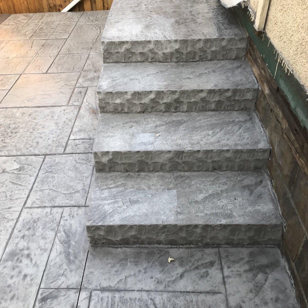 DecoMax Concrete - Concrete Steps Gallery - Stamped - 009
